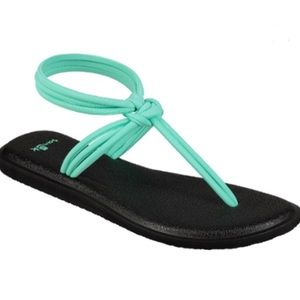 Sanuk Yoga Sunshine Sandals Size 10